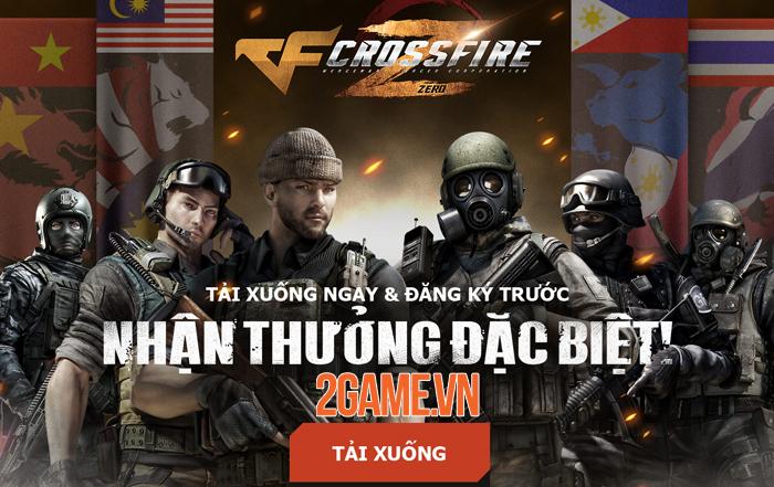 Crossfire Zero - Đột Kích Web sắp ra mắt game thủ Việt 0