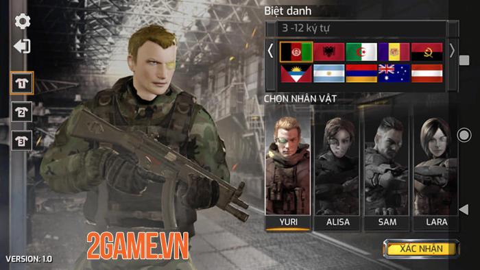 Trải nghiệm Project War Mobile - Game bắn súng đa dạng mode chơi 0
