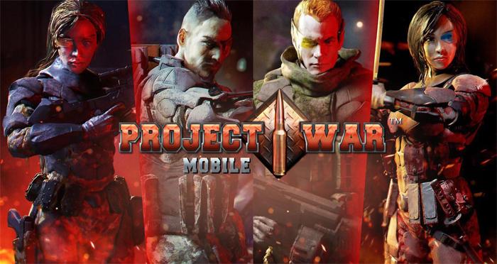 Trải nghiệm Project War Mobile - Game bắn súng đa dạng mode chơi 5