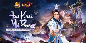 Diễn viên Anh Tú cosplay phái Mộ Dung trong Tân Thiên Long Mobile VNG