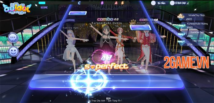 Cảm nhận game AU Idol Mobile: Sướng tay, đã mắt! 7