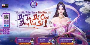 Siêu phẩm game tiên hiệp Tiên Duyên Kiếm Gamota ra mắt landing