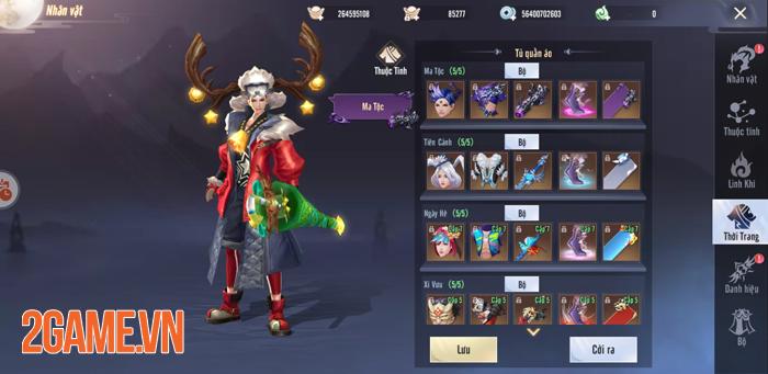 Tinh Vân Kiếm Mobile tặng quà Noel cực xịn cho người chơi 0