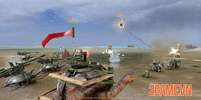 War Tortoise 2 - Hậu bản Rùa Chiến Mobile với những cải tiến mới mẻ về đồ hoạ và lối chơi 0