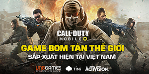 VNG Games ra mắt trang chủ Call of Duty Mobile VN