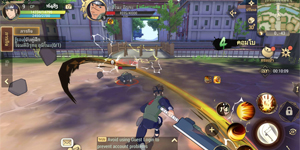Naruto Slugfest mở ra một thế giới ninja hoàn chỉnh nhất trên mobile