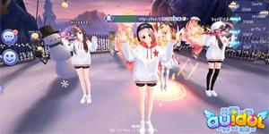 """Đại sứ game nhảy AU Idol tổ chức sự kiện """"Múa quạt đi Dubai"""""""