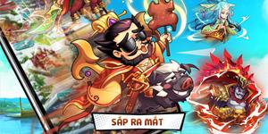 Game một chạm siêu lầy lội Idol Tam Quốc tự tin chinh phục người chơi