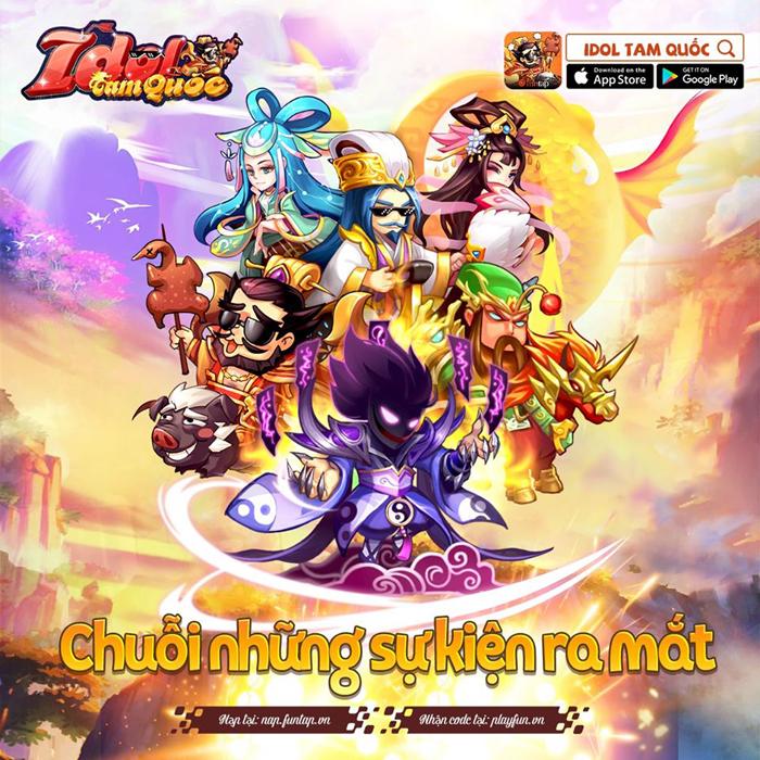 Idol Tam Quốc mừng bản Open Beta với nhiều sự kiện hấp dẫn 2