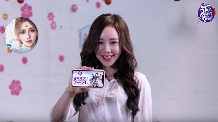 Diễn viên Mạnh Quân và Quỳnh Kool quảng cáo game Tiên Duyên Kiếm 2