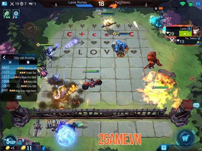 Game cờ nhân phẩm bối cảnh tương lai Arena of Evolution hỗ trợ tiếng Việt 0