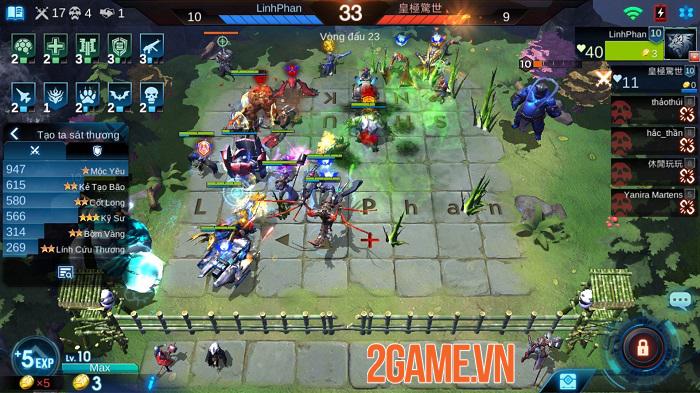 Game cờ nhân phẩm bối cảnh tương lai Arena of Evolution hỗ trợ tiếng Việt 4