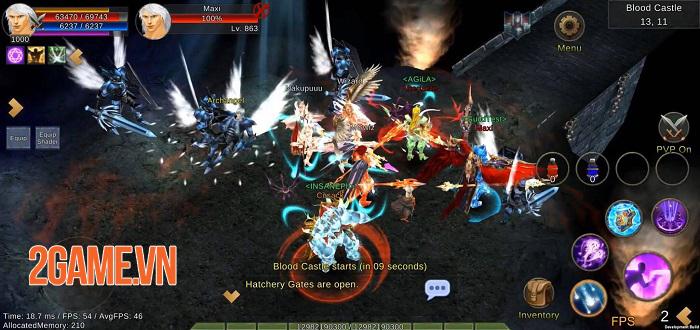 Top 7 game di động lấy cảm hứng từ MU Online 6