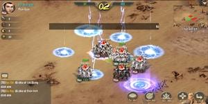 Vương Triều Tranh Bá sở hữu lối chơi SLG cực kỳ hack não