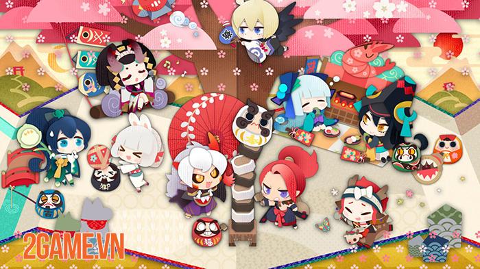 Top 11 game mobile lấy cảm hứng Âm Dương Sư Nhật Bản 5