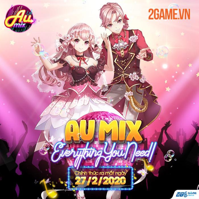 Siêu phẩm game vũ đạo thời trang AU Mix chốt ngày ra mắt 0