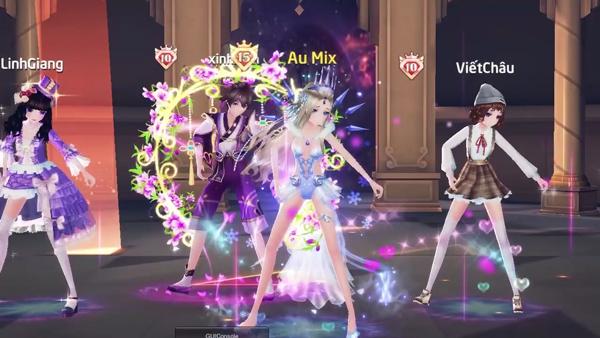Siêu phẩm game vũ đạo thời trang AU Mix chốt ngày ra mắt 2