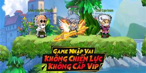 Dấu Ấn Rồng Mobile là game nhập vai không VIP, không Lực chiến
