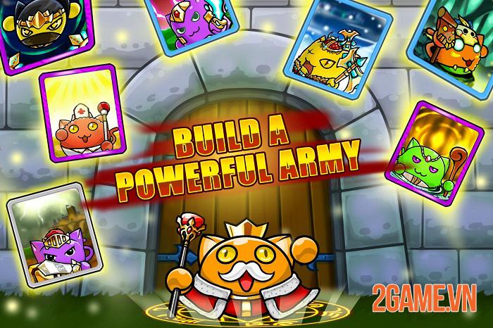 Meowar - Game chiến thuật thả quân có nhân vật chính là các chiến binh mèo đáng yêu 4