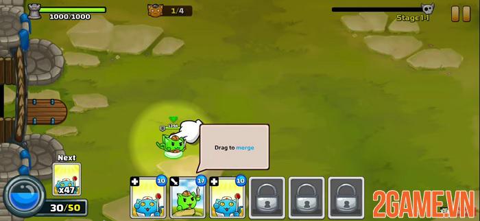 Meowar - Game chiến thuật thả quân có nhân vật chính là các chiến binh mèo đáng yêu 1