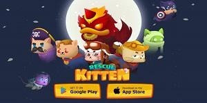 Rescue Kitten: Rope Puzzle – Game giải đố thú vị của một team dev Việt