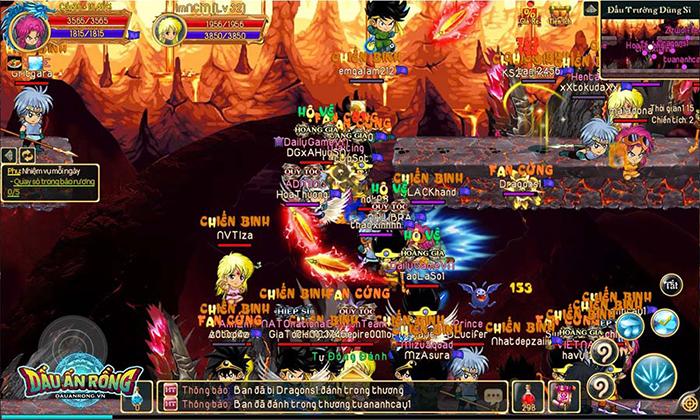Dấu Ấn Rồng Mobile chật kín người chơi, đúng là game hay tự khắc đông! 3