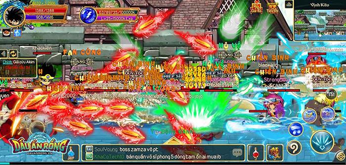 Dấu Ấn Rồng Mobile chật kín người chơi, đúng là game hay tự khắc đông! 1