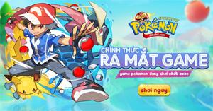 Game đấu pokemon Poke Adventure H5 ấn định thời gian ra mắt