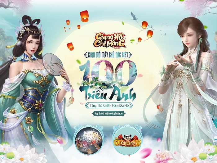 Game Giang Hồ Chi Mộng cán mốc 100 server chỉ sau hơn 1 tháng ra mắt 0
