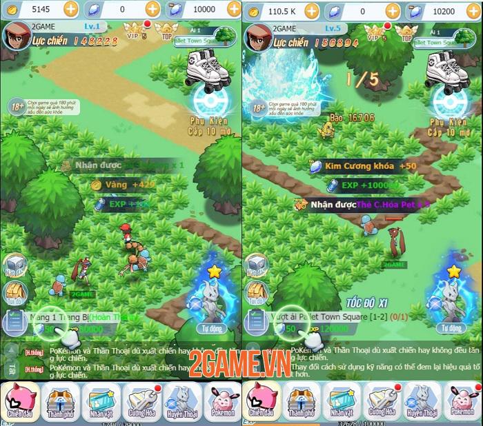 Top 4 tựa game H5 mới cáu đang thu hút sự chú ý của game thủ Việt 3