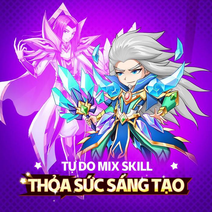 Siêu Thần Mobile - Game 3Q thế hệ mới trình làng game thủ Việt 1