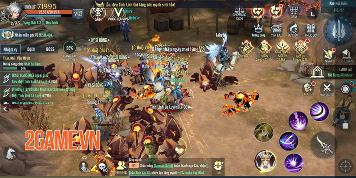 Vệ Thần Mobile tạo nét riêng cho dòng MMORPG 3D ở Việt Nam 3