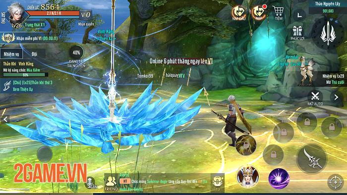 Vệ Thần Mobile tạo nét riêng cho dòng MMORPG 3D ở Việt Nam 4