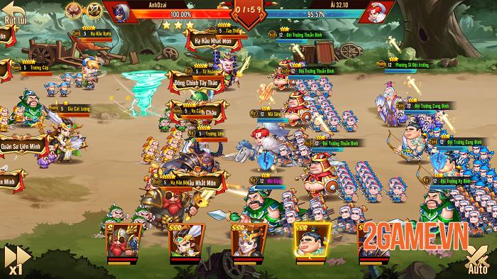 Top 10 game online lấy chủ đề Tam Quốc đa dạng lối chơi cho bạn lựa chọn 3