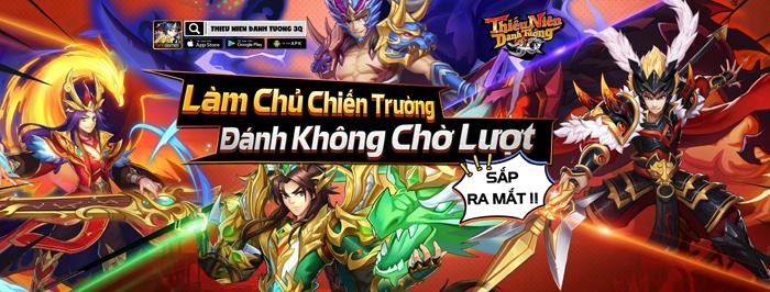VNG sắp ra mắt game mới Thiếu Niên Danh Tướng 3Q tại Việt Nam 0