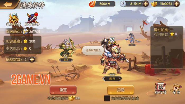Chơi thử Thiếu Niên Danh Tướng 3Q: Game cưỡi ngựa đẩy tướng đầy mới lạ 4