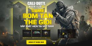 Call of Duty Mobile Việt Nam mời chào người chơi với hàng tấn quà tặng
