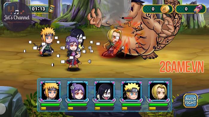 Top 7 game mobile mới toanh dành riêng cho fan Naruto 4