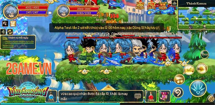 Chỉ là Alpha Test thôi mà Dấu Ấn Rồng Mobile đã thu hút hơn 100.000 người chơi 1