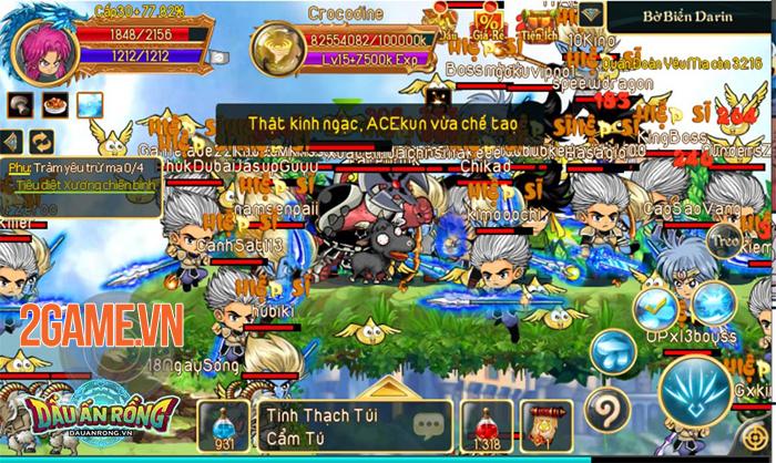 Chỉ là Alpha Test thôi mà Dấu Ấn Rồng Mobile đã thu hút hơn 100.000 người chơi 0