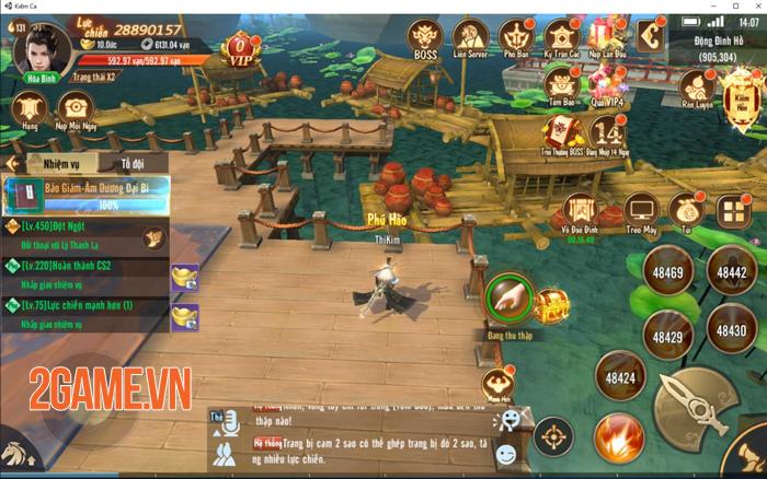 Game nhập vai Kiếm Ca VNG ra mắt bản PC 0