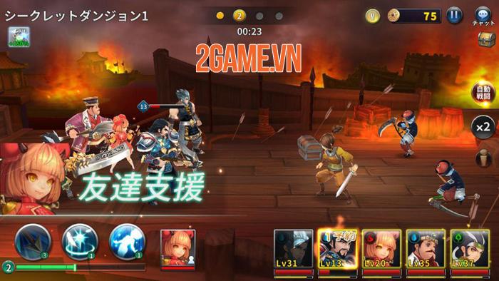 Game mới Loạn Thế Anh Hùng 3Q sắp được SohaGame ra mắt khu vực SEA 3