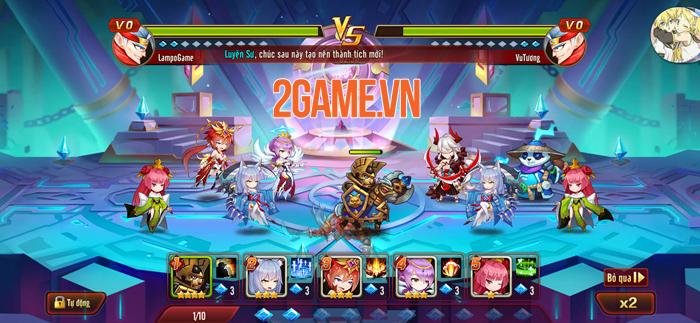 Nuôi tướng bằng skill - Thứ độc lạ chỉ có trong Siêu Thần Mobile 5