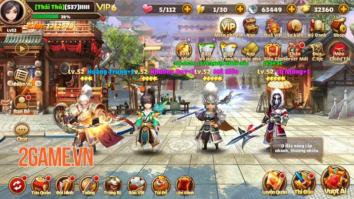 Tam Quốc Tốc Chiến không ngừng tăng hạng nhờ gameplay né chiêu độc lạ 1
