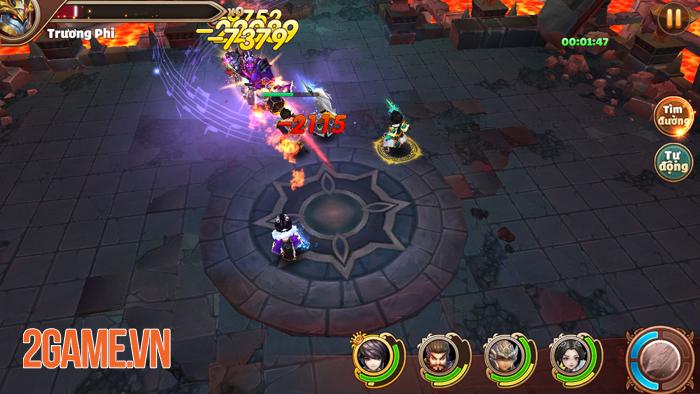 Tam Quốc Tốc Chiến không ngừng tăng hạng nhờ gameplay né chiêu độc lạ 3