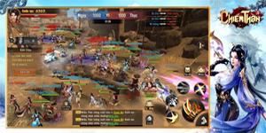 Chất chiến đấu nhanh – mạnh của Chiến Thần 3D Mobile khiến người chơi cảm thấy đã tay!