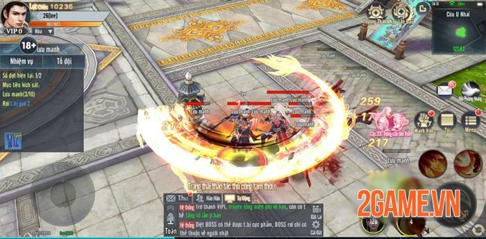 Tuyệt Đại Song Tu cho người chơi tu tiên với người khác và sử dụng luôn skill của họ 3