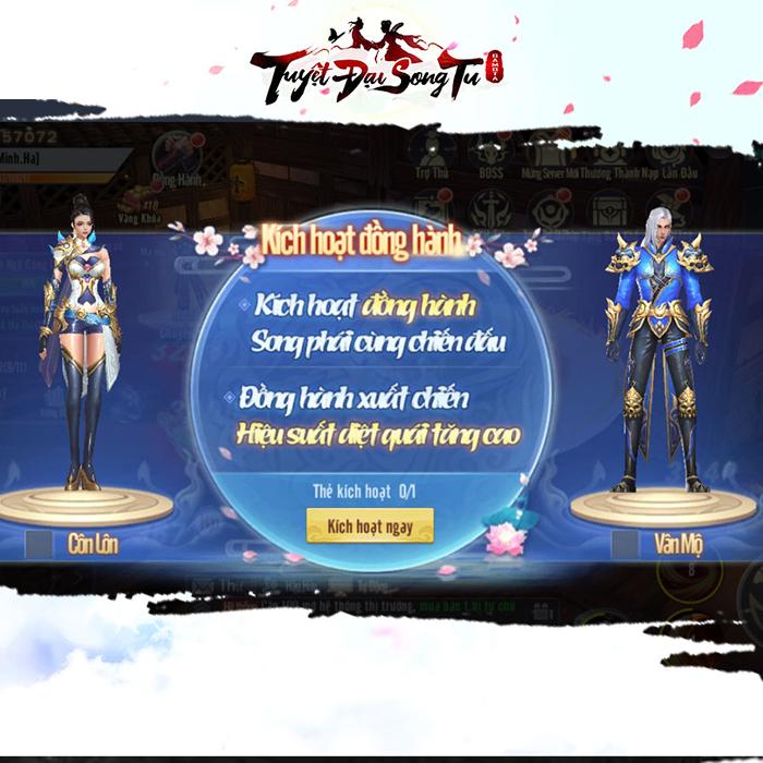 Tuyệt Đại Song Tu cho người chơi tu tiên với người khác và sử dụng luôn skill của họ 4