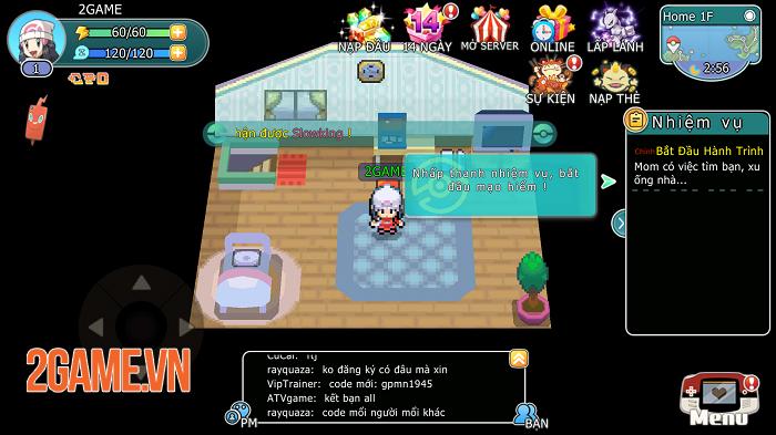 Liên Quân Bảo Bối đích thị là game Pokémon đúng chuẩn bản gốc GAMEBOY 1