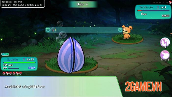 Liên Quân Bảo Bối đích thị là game Pokémon đúng chuẩn bản gốc GAMEBOY 4